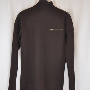Alaia 100% Wool Turtleneck Sweater - S